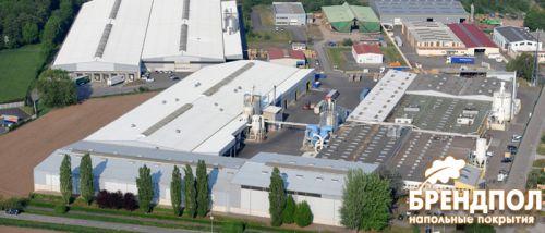Ламинат Alsafloor завод во Франции
