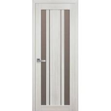 Двери Новый стиль Итальяно ПВХ Верона С2 бронза Новый Стиль