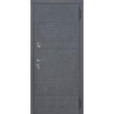 Двері Таримус МДФ-МДФ Чарлстон 105мм Графит/Глянец мокко Царга Таримус