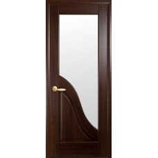 Двери Новый стиль Маэстра ПВХ Амата ПО Каштан Новый Стиль