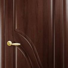 Двери Новый стиль Маэстра ПВХ Амата Каштан Новый Стиль