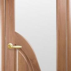 Двери Новый стиль Маэстра ПВХ Амата ПО Золотая Ольха Новый Стиль