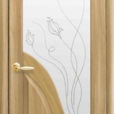 Двери Новый стиль Маэстра ПВХ Амата+Р2 Золотой Дуб Новый Стиль