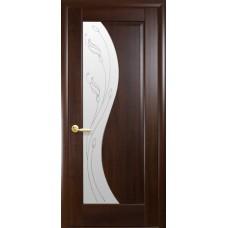 Двери Новый стиль Маэстра ПВХ Эскада+Р2 Каштан Новый Стиль