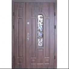 Двери Redfort Оптима Плюс Арка улица с притвором + ковка 1200 Redfort