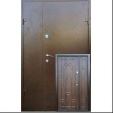 Двери Redfort Оптима Плюс Мет/МДФ с притвором улица 1200 Redfort
