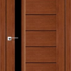 Двери DARUMI BORDO Двери BORDO Орех роял черное «Lacobel»