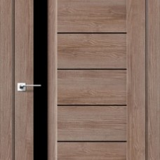 Двери DARUMI BORDO Двери BORDO Орех Бургун черное «Lacobel»