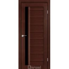 Двери DARUMI BORDO Двери BORDO Венге панга черное «Lacobel»