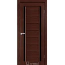 Двери DARUMI MADRID Двери MADRID Венге панга черное «Lacobel»