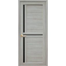 Двери Новый стиль MODA Ламинатин Тринити BLK ясень патина Новый Стиль