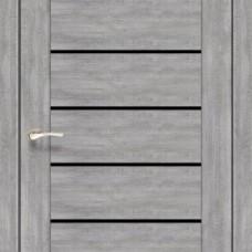 Двери KORFAD Piano Deluxe PND-01 BLK ЭШ ВАЙТ KORFAD