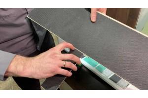 Відео - відгук про SPC 3,5 мм з наклеєною підкладкою на планки.