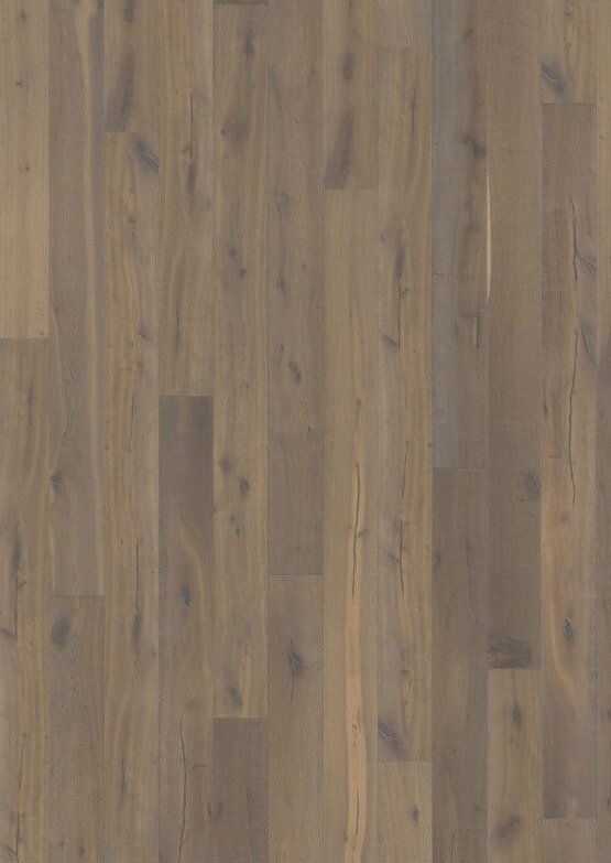 Паркетная доска Karelia IMPRESSIO COLLECTION OAK STORY 187 SMOKED CHARCOAL GREY 5G NEW